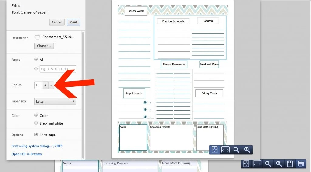 Customizable and Free Printable To Do List that You Can Edit