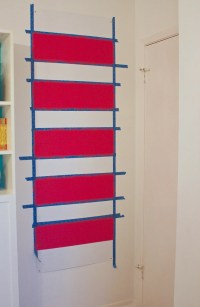 Large DIY Magnetic Board {Painted or Fabric Covered}