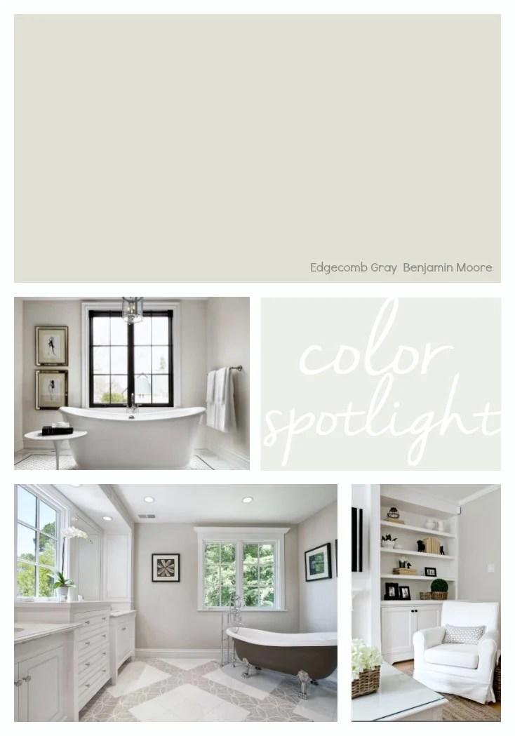 Benjamin Moore Edgecomb Gray: Color Spotlight