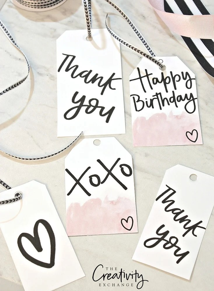 Free Printable Gift Tags and Wrap Paper