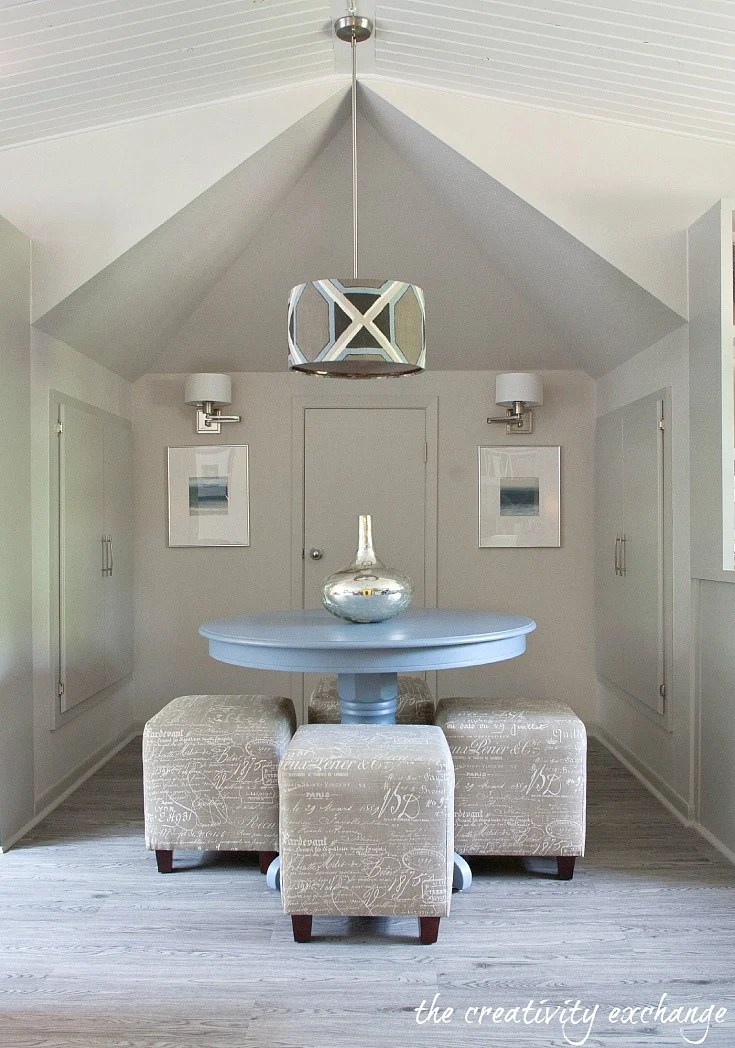 Sherwin Williams Mindful Gray Color Spotlight - mindful gray living room