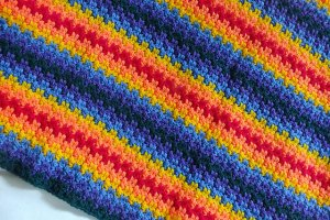 Edith's Rainbow Blanket