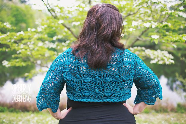 Hairpin Lace Shrug (7)