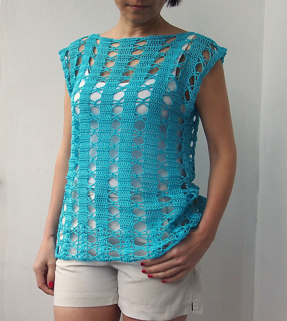Cool Summer Tunic Top