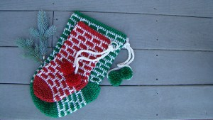 Holiday Sparkle Stocking