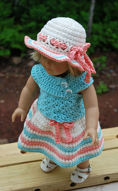 Sweet & Sassy Doll Dress