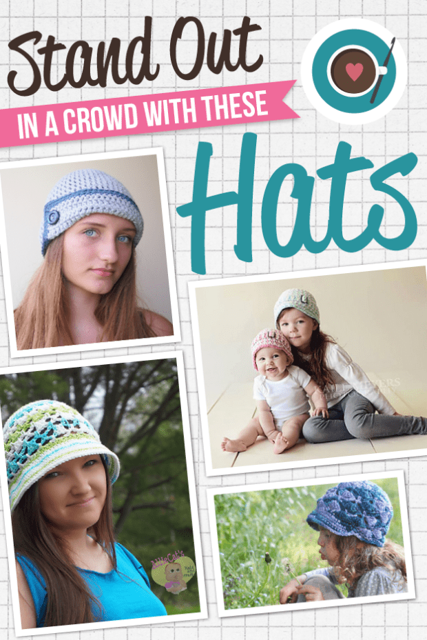 4) Stand Out in a Crowd With These Hats