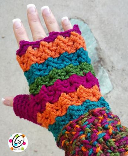 Berry Harvest Mitts by Snappy Tots