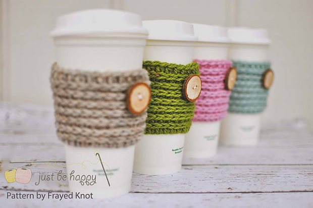 FREE 15 min Coffee Sleeve by Frayed Knot