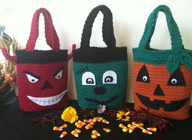 Halloween Candy Bags - Pattern Paradise