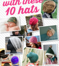 Practice your post stitches with these 10 hats