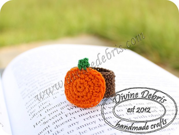 Pumpkin Ring by Divine Debris Free pattern
