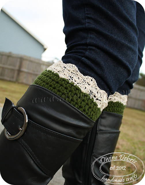 Eva Boot Cuffs by Divine Debris