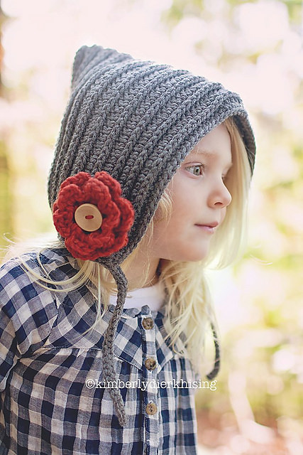 Knit Look Bonnet by Salena Baca Crochet