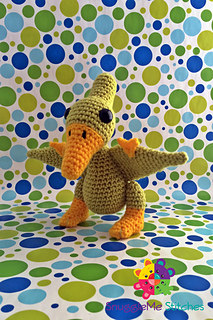 SnuggleMe Pterodactyl {Dinosaur} by SnuggleMe Stitches