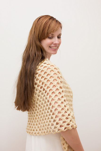 Honeycomb Shawl by Ashley Designs
