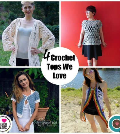 4 Crochet tops we love