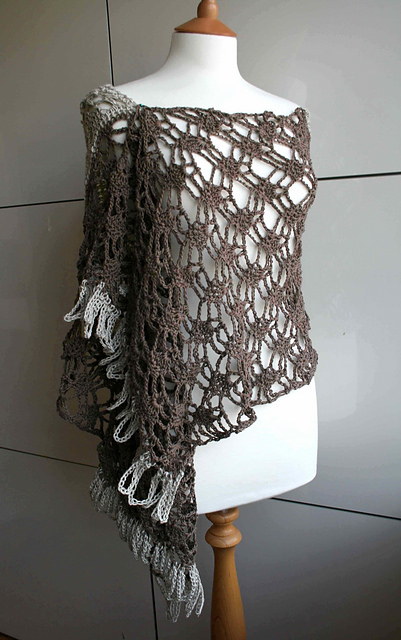 Cotton Linen Summer Wrap by Luz Patterns