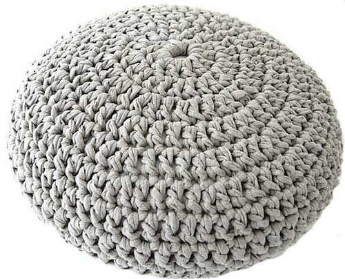 Pouf Pattern by Evelien Serpenti