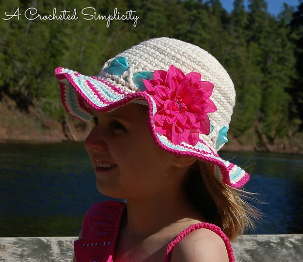 Sweet & Sassy Sunhat by Jennifer Pionk