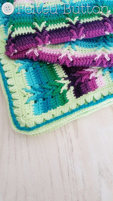 This Way Blanket by Felted Button