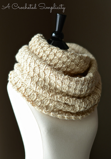 Knit-Look Infinity Stitch Cowl & Poncho by Jennifer Pionk
