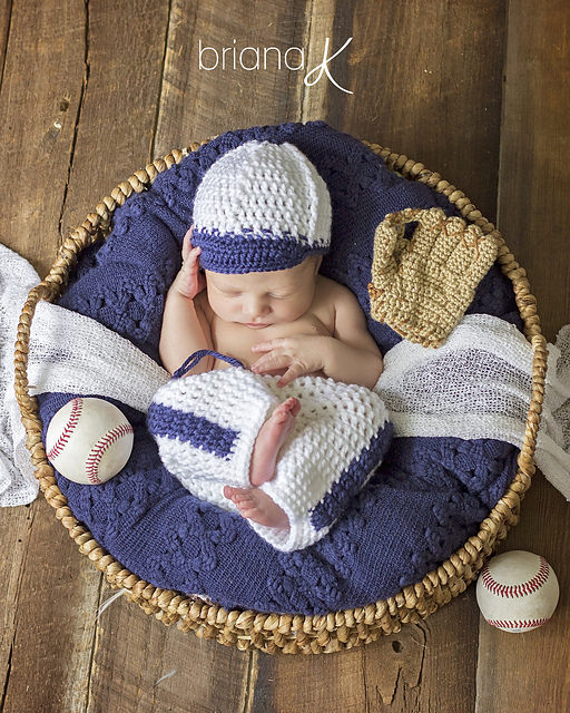 Newborn Baseball Outfit by Briana K