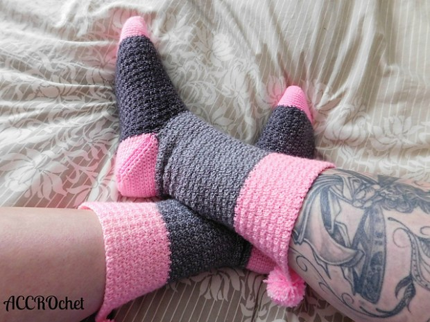 Confiture socks by ACCROchet