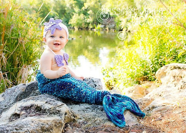 Mermaid Patterns by Crochet by Jennifer