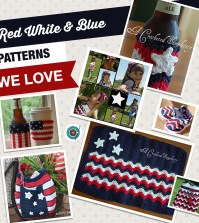 Red White & Blue Patterns We Love