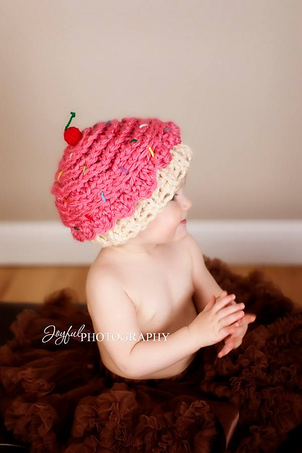 Chunky Cupcake Hat by Lisa Jelle -Kaleidoscope Art & Gifts