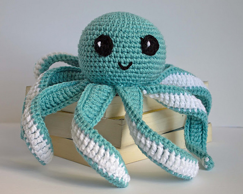 Octopus Baby Toy by Friendly Red Fox