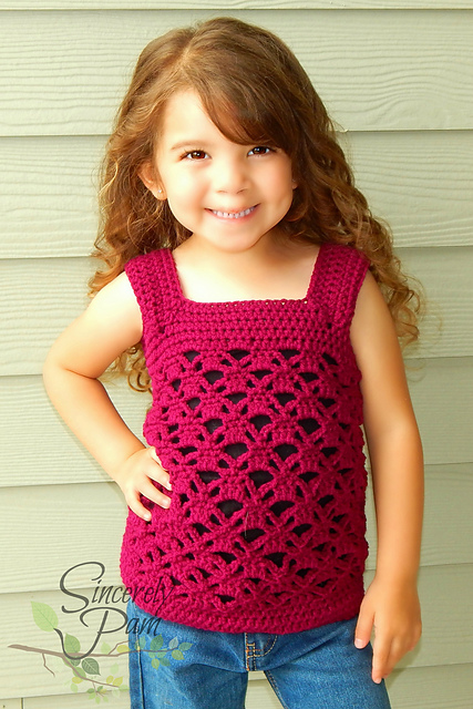 Samantha Tank - Child Sizes by Sincerely Pam