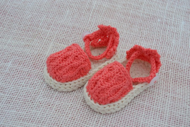 Summer Waves Baby Sandals by Jennifer Pionk