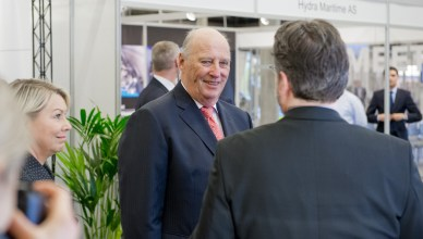 King Harald has won praise for his speech supporting diversity and the LGBT community (NorShipping)
