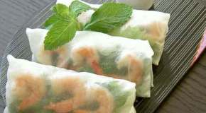 Spring Time! Means its time for Spring Rolls