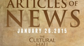 Articles of News/Week of Jan 26th