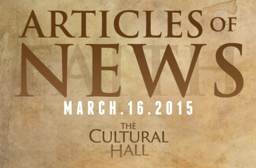 Articles of News/Week of March 16th