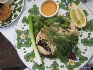 The Ivy Crab Louis Salad