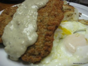 Tygers Country Fried Steak