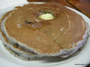 Tygers Raspberry Pancakes