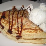 CrepeVine Strawberry Nutella Crepe