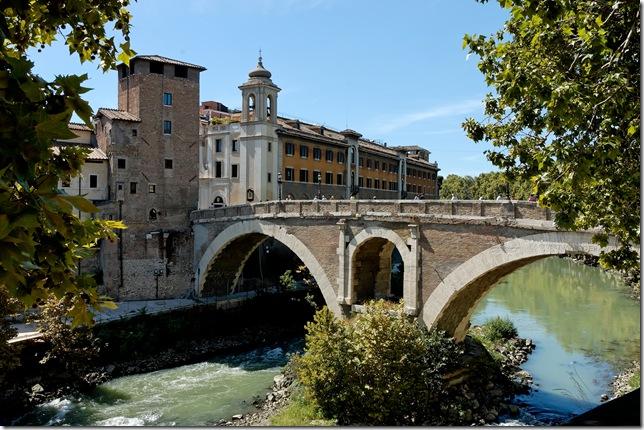 Ponte_Fabricio_Rome_Pierleoni