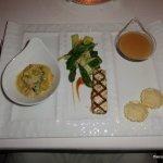 Michael Mina Rabbit Fois Gras Appetizer