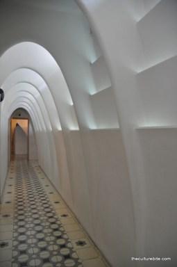 Barcelona Gaudi Casa Batllo Light Shaft