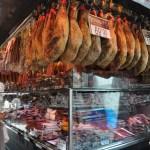 Barcelona La Boqueria Cured Meat Stand