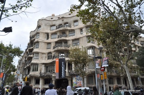 Barcelona La Pedrera Exterior