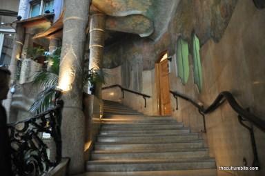 Barcelona La Pedrera Staircase