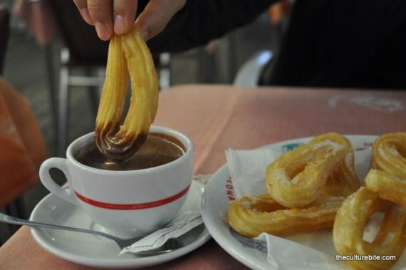 Barcelona Rey de la Gamba Chocolate con Churros