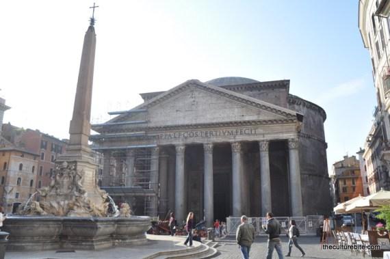 Rome Pantheon Day